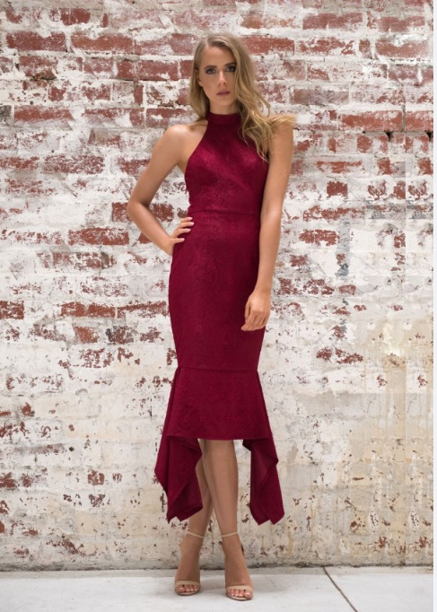 High Neck With Delicate Lace produ