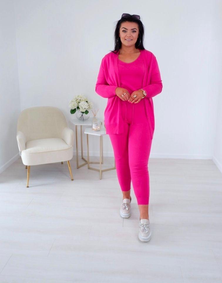 Zara – Fuchsia Pink 3 Piece Loungewear Set produ