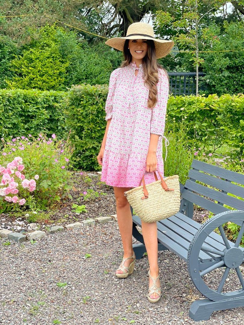 Lana – Pink Fade Mini Dress produ