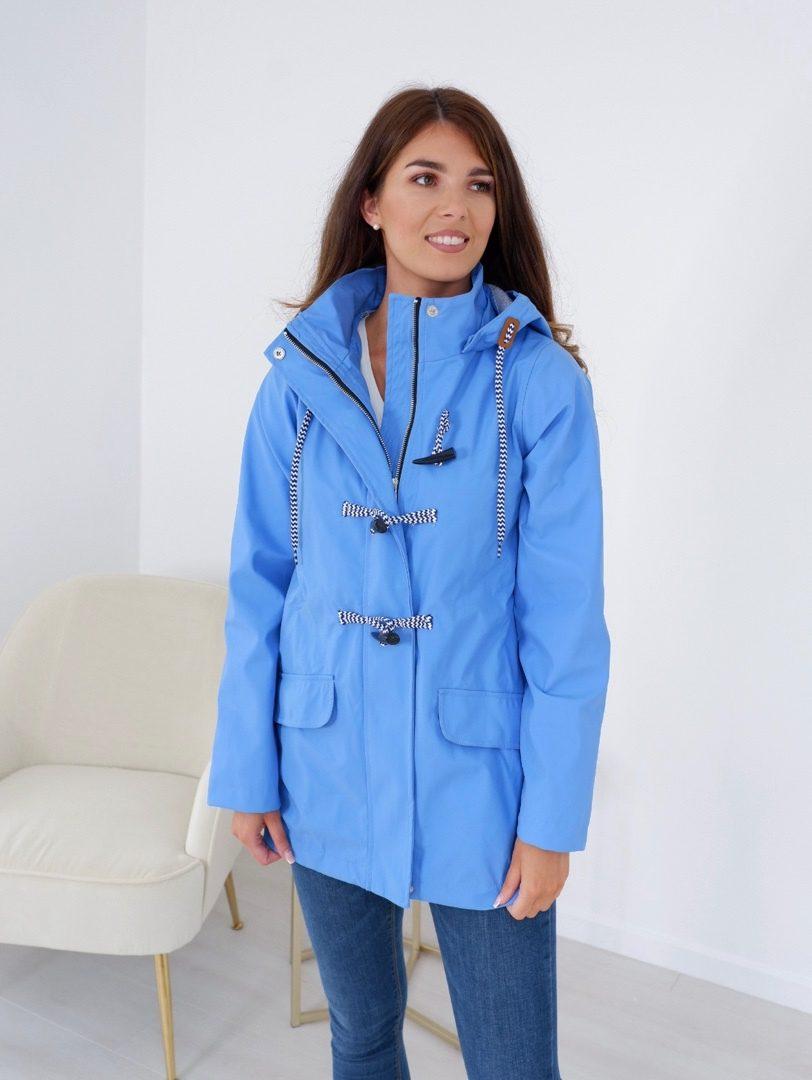 Mia – Raincoat In Cornflower Blue produ