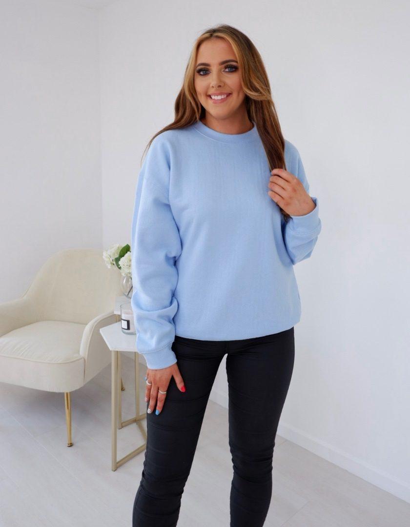 Sienna – Sky Blue Sweater produ